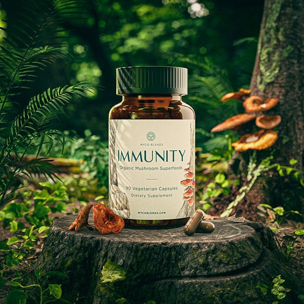 Immunity Supplement Instagram Scene Outlier Creative