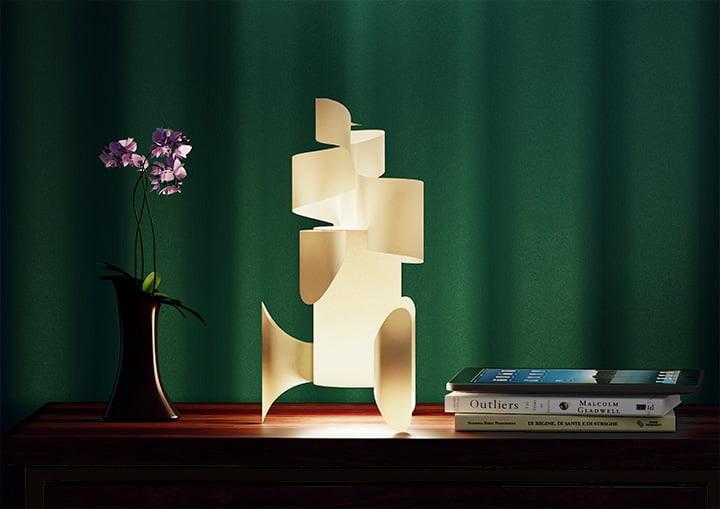Aluz paper lamp